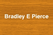 Bradley E Pierce